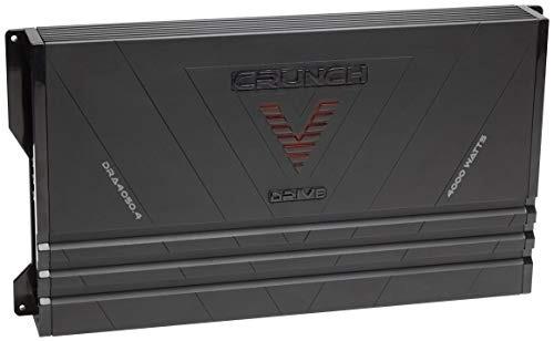 amplificador de coche crujiente dra40504 v drive (renovado)