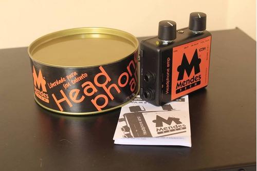amplificador de fone de ouvido mendes modelo hpam