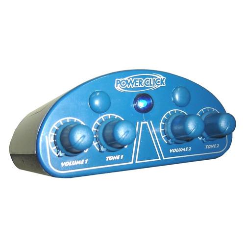 amplificador de fone de ouvido power click db 05 color azul