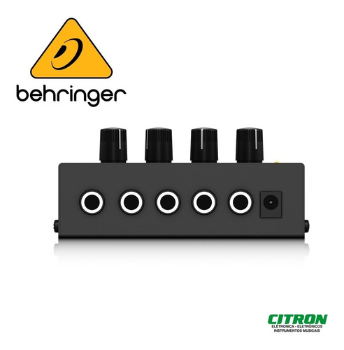 amplificador de fones behringer ha 400 power play