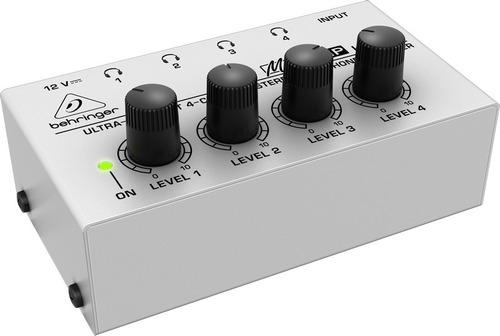 amplificador de fones powerplay ha400 behringer nfe