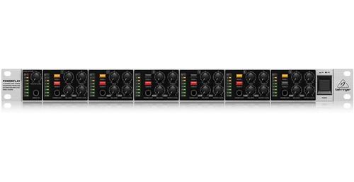 amplificador de fones powerplay ha6000 behringer bivolt nfe