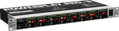 amplificador de fones powerplay ha8000 behringer bivolt nfe