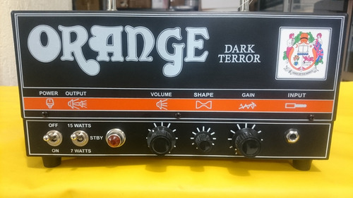 amplificador de guiatarra electrica orange dark terror nuev