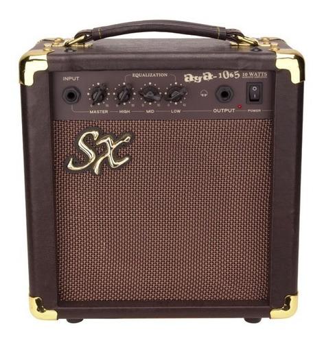 amplificador de guitarra acustica sx aga1065 10 watts
