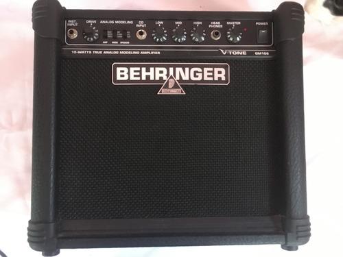 amplificador de guitarra behringer gm108