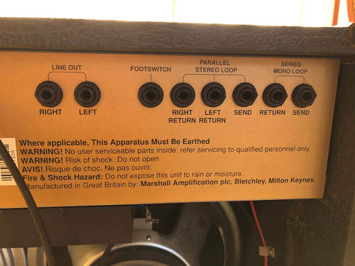 amplificador de guitarra electrica