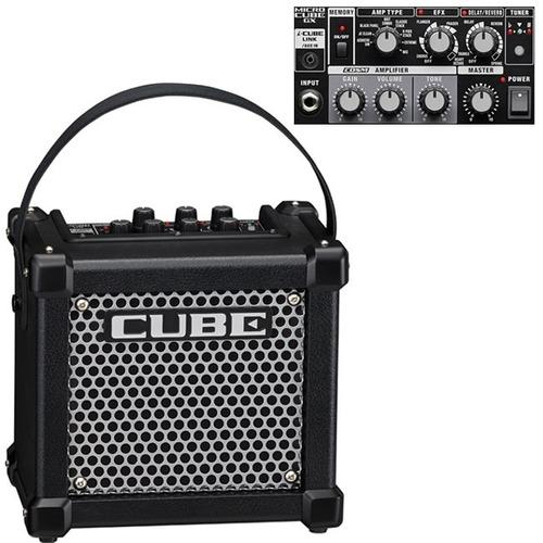 amplificador de guitarra eléctrica micro cube gx,   roland