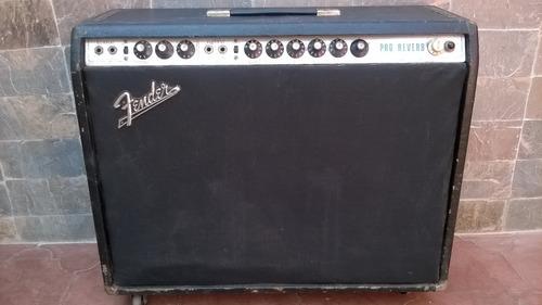 amplificador de guitarra fender  pro reverb