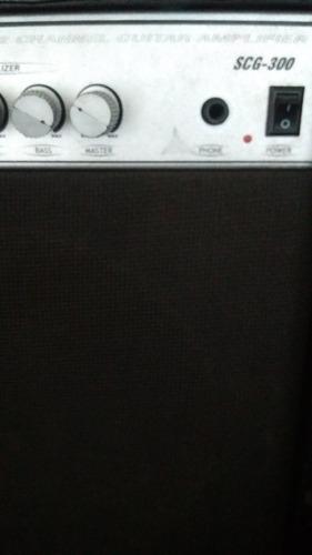 amplificador de guitarra fender scg-300