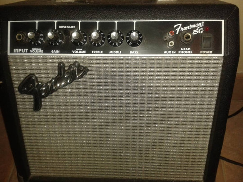 amplificador de guitarra fender15g