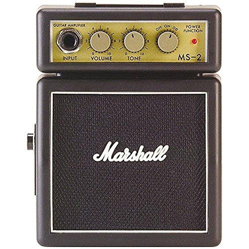 amplificador de guitarra marshall ms2 micro