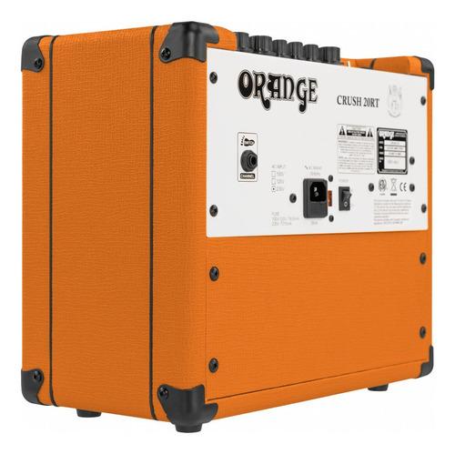 amplificador de guitarra orange crush 20rt