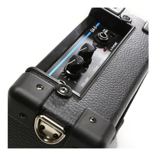 amplificador de guitarra parlante portatil con bateria promo