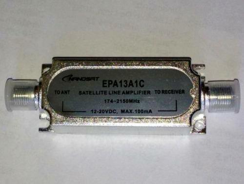 amplificador de linha (sinal) sat 20 db 950 - 2300 mhz!!!