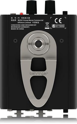 amplificador de monitor personal in ear behringer p1 !