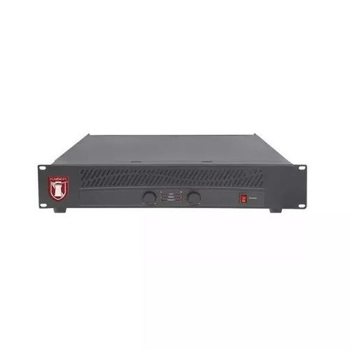 amplificador de poder 2 canales de 1500w pmpo kaiser 2100