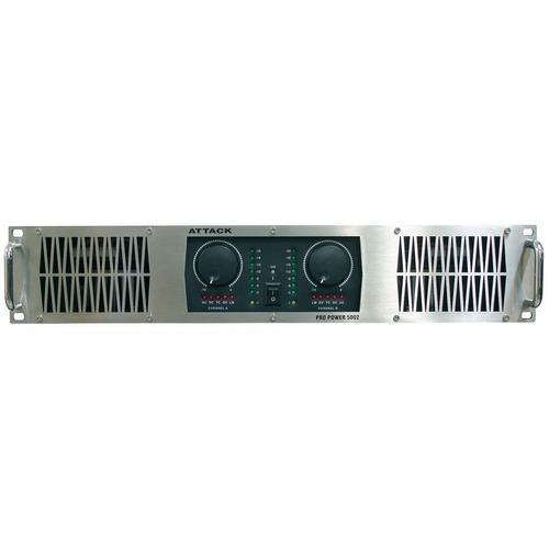amplificador de potencia 5000w por ch 4 ohms pp 5002 attack