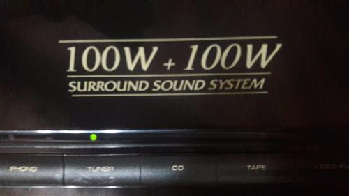 amplificador de potencia con pre 200 watts 4 salidas