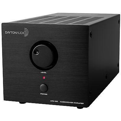 amplificador de potencia dayton audio apa150 150w