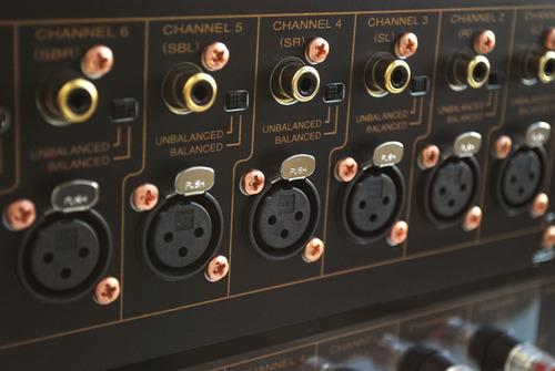 amplificador de potencia de 7 canales marantz mm8077