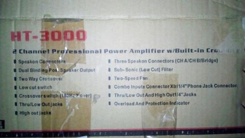 amplificador de potencia  hokutones h t 4000