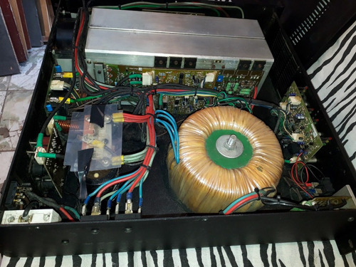 amplificador de potencia hot sound hs 1500 sx