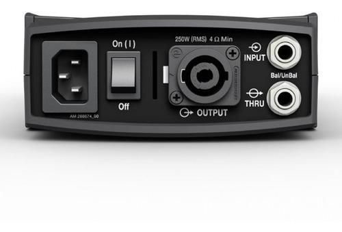 amplificador de potencia packlite® modelo a1