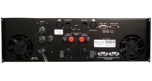 amplificador de potencia  pp 8002 4 ohms 8000w - attack