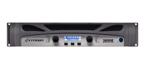 amplificador de potência crown 1350w gxti 1002 / 2 canais.