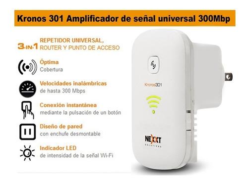 amplificador de señal 3 en 1 nexxt kronos 301 (60068)