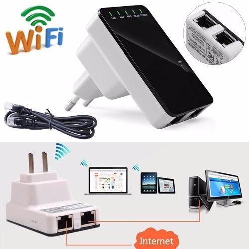 Amplificador de sinal wireless n 300mbps roteador - Amplificador wifi tp link ...