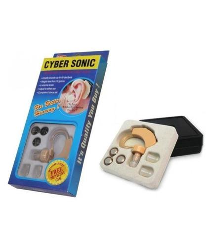 amplificador de sonido audifono cyber sonic oido sordera