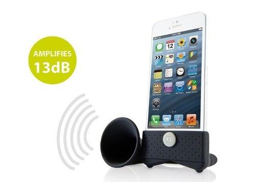 amplificador de sonido para iphone se / 5s / 5 / tecnodim