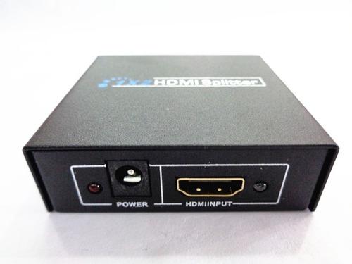 amplificador de video hdmi splitter 1x2 full hd 3d