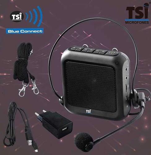amplificador de voz professor tsi supervoz bc 270 bluetooth