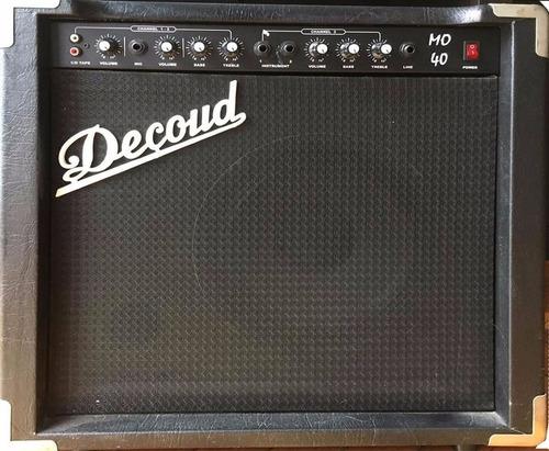 amplificador decoud mo 40