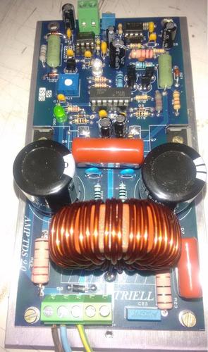 amplificador digital de 2000w rms placa montada