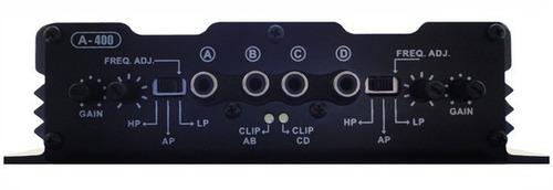 amplificador digital power systems a400 - 4 canais
