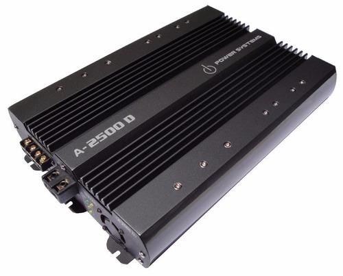 amplificador digital power systems a600 + 3 unidades a2500