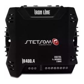 Amplificador Digital Stetsom Iron Line Ir400.4  400w Remanuf