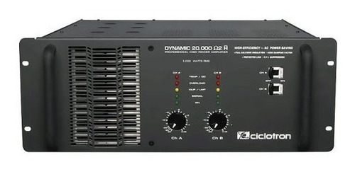 amplificador dynamic 20000 2 ohms h - ciclotron