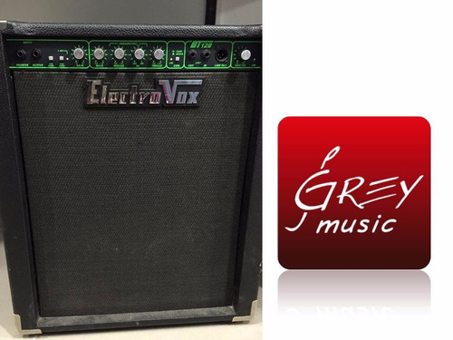 amplificador electrovox para bajo 120w - grey music -