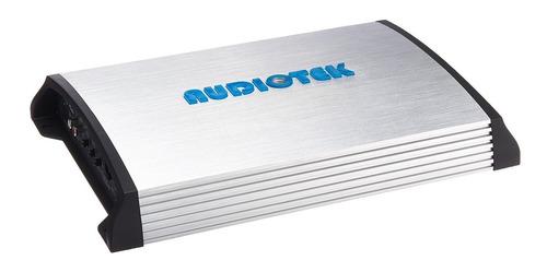 amplificador estéreo de auto con potencia y control de bajos