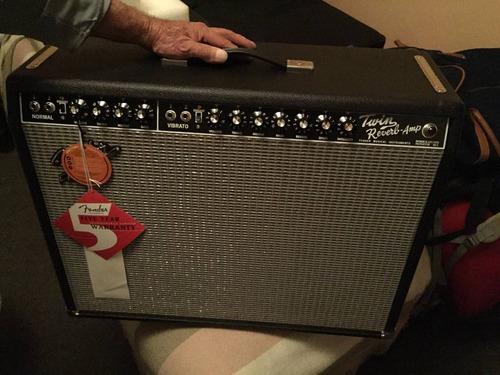 amplificador fender ´65 twin reverb 85 watt 2x12 jensen