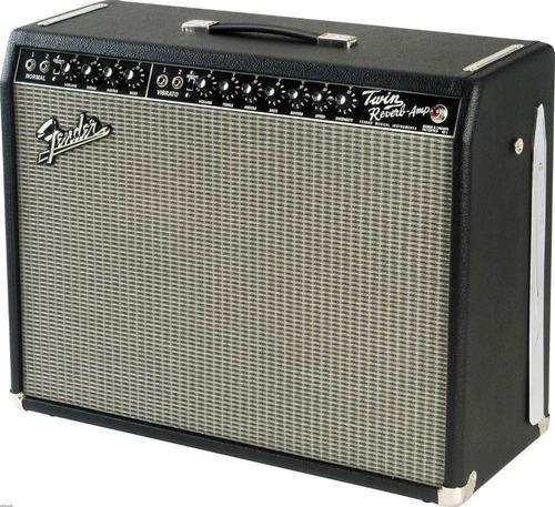amplificador fender 65 twin reverb 85w valvular 2x12 cuotas