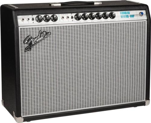 amplificador fender 68 vibrolux custom rever 35 envio cuotas