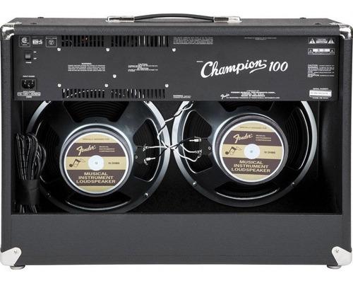 amplificador fender champion 100 amplificador de  guitarra