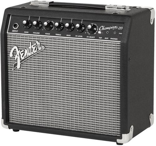 amplificador fender champion 20 combo para guitarra - 20w