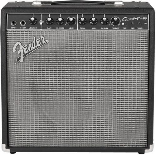 amplificador fender champion 40 combo para guitarra - 40w
